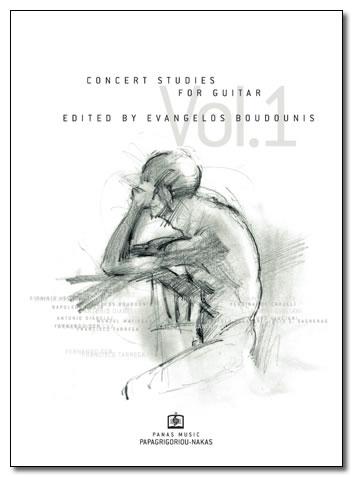 ΜΠΟΥΝΤΟΥΝΗΣ ΕΥΑΓΓΕΛΟΣ - CONCERT STUDIES Vol. 1
