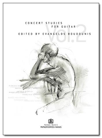 ΜΠΟΥΝΤΟΥΝΗΣ ΕΥΑΓΓΕΛΟΣ - CONCERT STUDIES Vol. 2