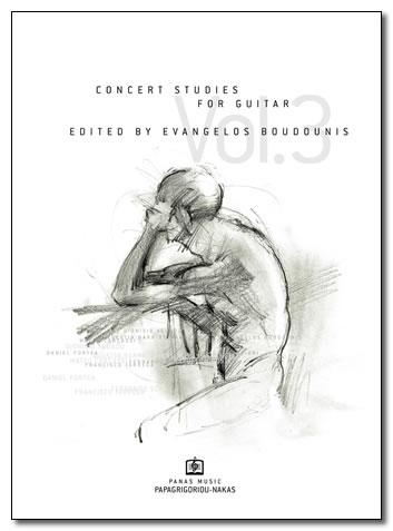 ΜΠΟΥΝΤΟΥΝΗΣ ΕΥΑΓΓΕΛΟΣ - CONCERT STUDIES Vol. 3