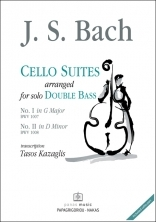 Cello Suites arranged for Double Bass
