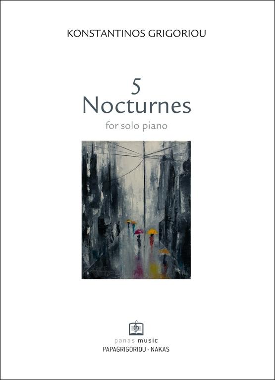 5 Nocturnes for solo piano