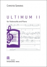ULTIMUM II for Violoncello and Piano