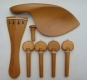 PO1 VIOLIN SET - BOXWOOD